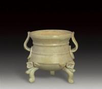 三足系香炉 -  - 瓷器 - 2007年春季大型艺术品拍卖会 -收藏网