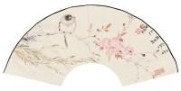 贾广健     花鸟扇面 - 18235 - 中国书画 - 2007春季中国书画名家精品拍卖会 -中国收藏网
