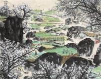 山水 镜心 设色纸本 - 10566 - 书画、油画及瓷杂 - 2006年秋季艺术品拍卖会 -中国收藏网