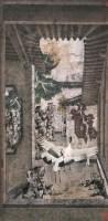 郑力 霓裳 镜心 设色纸本 - 119087 - 中国书画(二) - 2006秋季艺术品拍卖会 -收藏网