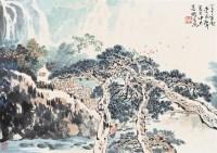 山水 镜心 设色纸本 - 李延声 - 中国书画 - 2006艺术品拍卖会 -收藏网