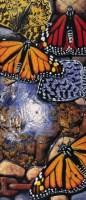 曹静萍 蝴蝶·锁链·水之十一 布面油画 - 154575 - 中国油画 - 2006秋季艺术品拍卖会 -收藏网