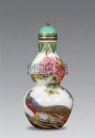 珐琅彩花鸟葫芦烟壶 -  - 艺术品 - 2011年春季拍卖会(329期) -收藏网