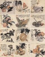 花果 册页 (十二开) 设色纸本 -  - 中国书画 - 2009春季拍卖会 -收藏网