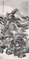 水墨山水 立轴 设色纸本 - 林纾 - 中国书画(一) - 2006年秋季艺术品拍卖会 -收藏网