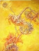 煌   向日葵系列 布面 油画 - 雷双 - 中国油画 - 2008春季大型拍卖会 -中国收藏网