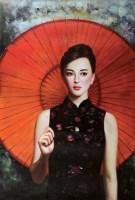 谢楚余人物油画 -  - 油画专场 - 北京艺海雅趣中国书画精品拍卖会 -收藏网