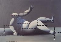 王广义 1987年作 大玩偶变体一号 布面油画 - 王广义 - 中国当代艺术二十年 - 2006秋季拍卖会 -收藏网