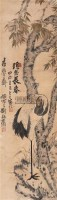 仙鹤 镜心 设色纸本 -  - 中国书画专场 - 2008第三季艺术品拍卖会 -收藏网