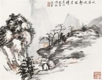 吹笛秋声风月清 立轴 纸本 - 4659 - 中国书画 - 2011年春季拍卖会 -收藏网