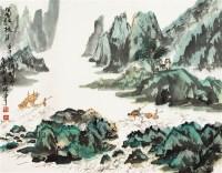 山水 镜片 纸本 - 8597 - 古董珍玩 - 2012迎春艺术品拍卖会 -收藏网