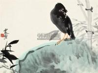 花鸟 镜片 设色纸本 - 李震坚 - 中国书画(四) - 2011年十大藏家精品专场拍卖会 -收藏网