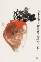 花瓶 镜心 设色纸本 -  - 中国书画 - 2007年秋季大型艺术品拍卖会 -中国收藏网