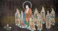 佚名 朝拜图 - 任伯年 - 中国书画专场 - 2009春季拍卖会 -收藏网
