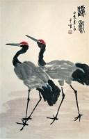 鹤寿 立轴 设色纸本 - 1722 - 中国书画 - 2007秋季艺术品拍卖会 -中国收藏网