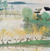 丝绸之乡 布面  油画 - 苏天赐 - 中国油画 - 2006春季拍卖会 -收藏网