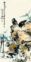 花鸟 立轴 设色纸本 - 70709 - 中国书画 - 2007秋季艺术品拍卖会 -中国收藏网