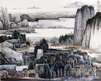 薛亮     山水 -  - 中国书画 - 广东宝通拍卖公司艺术精品拍卖会 -中国收藏网
