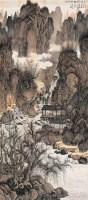 太行探幽 立轴 设色绢本 - 刘彦水 - 中国当代书画 - 2006冬季拍卖会 -收藏网