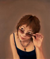 王海明 2006年作 一米阳光 布面 油画 - 40566 - 四川画派(油画) - 2006秋季拍卖会 -收藏网