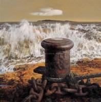 大海的丰碑 布面 油画 - 毛文佐 - 中国油画 - 2006春季大型艺术品拍卖会 -收藏网