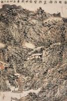 萧瑟清秋气 镜心 设色纸本 - 127278 - 中国书画 - 第55期中国艺术精品拍卖会 -收藏网
