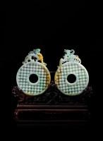 瑞祥兽璧 -  - 翡翠、名石、文玩杂件、紫砂、书画 - 2011年秋季艺术品拍卖会 -收藏网