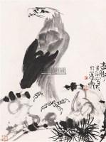 远瞩 立轴 水墨纸本 - 140592 - 私人收藏书画专场(一) - 2011秋季艺术品拍卖会 -收藏网