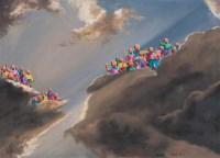 方力钧 2005年作 2005.9.1 布面油画 - 方力钧 - 中国当代艺术二十年 - 2006秋季拍卖会 -收藏网
