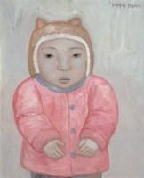 段建伟 1999年作 粉衣娃娃 布面 油画 - 段建伟 - 中国当代油画 - 2006首届中国国际艺术品投资与收藏博览会暨专场拍卖会 -收藏网
