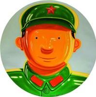 英雄NO.91 布面油画 - 沈敬东 - 中国油画雕塑 - 2008春季拍卖会 -收藏网