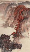 万山红遍 立轴 设色纸本 - 陈维信 - 中国当代书画 - 2006秋季艺术品拍卖会 -收藏网