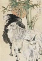 任伯年(1840-1896)三羊开泰 - 6106 - 中国书画(一) - 2007秋季艺术品拍卖会 -收藏网