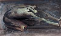 西绪弗斯 木板油画 - 126452 - 绍晋斋暨立派艺术中心藏中国油画、雕塑、水彩 - 2006冬季艺术品拍卖会 -收藏网