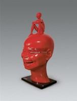 童年 玻璃钢 雕塑 - 陈文令 - 油画雕塑 - 2007春季艺术品拍卖会 -收藏网