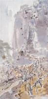 毛岱宗 2003年作 雾中黄山北海 布上油画 - 毛岱宗 - 中国西画 - 2006秋季拍卖会 -收藏网