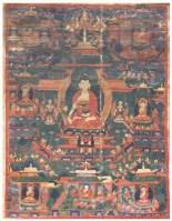 药师佛唐卡 -  - 佛像唐卡 - 2007春季艺术品拍卖会 -中国收藏网