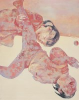 郭晋 2002年作 小女孩 布面油画 - 郭晋 - 中国当代艺术 - 2006秋季艺术品拍卖会 -收藏网