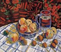 闵希文 水果静物 - 闵希文 - 中国油画 - 2006年秋季拍卖会 -收藏网