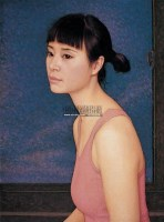 肖像 布面 油画 - 靳尚谊 - 中国油画 雕塑影像 - 2006广州冬季拍卖会 -中国收藏网