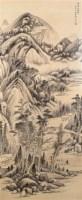 金城   山水 - 金城 - 书画 - 2007年新年拍卖会 -收藏网