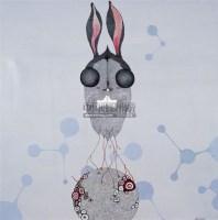 克隆兔 综合 材料 - 157025 - 名家西画 当代艺术专场 - 2008年秋季艺术品拍卖会 -收藏网