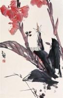 秋庭蕉花 立轴 设色纸本 - 19960 - 中国书画(二) - 2006年秋季艺术品拍卖会 -收藏网