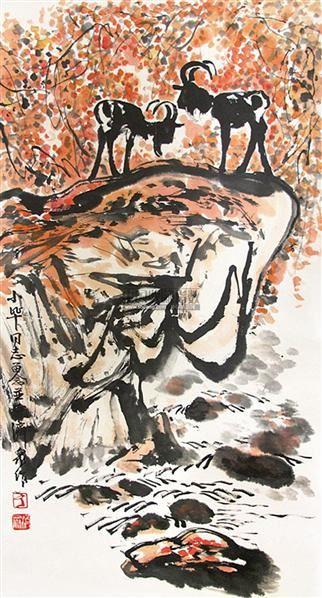 山水 轴 - 4879 - 中国书画 - 2011年首屇艺术品拍卖会 -收藏网