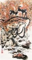 山水 轴 - 方济众 - 中国书画 - 2011年首屇艺术品拍卖会 -收藏网