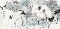 祥瑞幽溪 镜片 设色纸本 - 陈忠志 - 中国书画一 - 2011年春季艺术品拍卖会 -收藏网