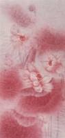 王桂群 梦 镜心 设色纸本 - 144356 - 当代中国书画(一) - 2006畅月(55期)拍卖会 -中国收藏网