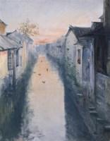 陆国英 风景 布面 油画 - 陆国英 - 中国油画 - 2006年秋季拍卖会 -收藏网