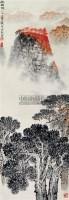 西柏坡 立轴 纸本 - 124084 - 中国书画 - 2011当代艺术品拍卖会 -中国收藏网