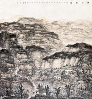 山水 镜片 设色纸本 - 杨云鹤 - 中国书画(一) - 五周年秋季拍卖会 -收藏网